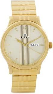 Titan Karishma NH1580YM05 Analog Multi Colour Dial Men's Watch (NH1580YM05)