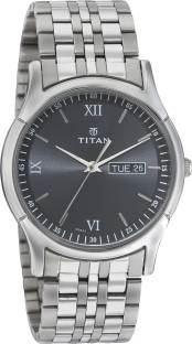 Titan Karishma NH1636SM01 Analog Black Dial Men's Watch (NH1636SM01)