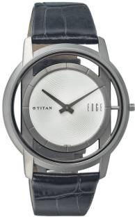 Titan 1577TL01 Analogue Silver Dial Men's Watch (1577TL01)