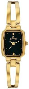 Titan Karishma 2131YM05 Analog Black Dial Women's Watch (2131YM05)