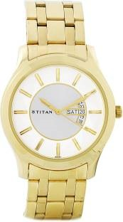 Titan Regalia NH1627YM01 Analog White Dial Men's Watch (NH1627YM01)
