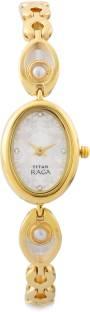 Titan Raga NF2511YM02 Pearl Analog Mother of Pearl Dial Women's Watch (NF2511YM02)