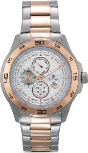 Titan Regalia NF90008KM01J Analog White Dial Men's Watch (NF90008KM01J)