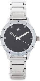 Fastrack NG6078SM06 Monochrome Analog Watch (NG6078SM06)