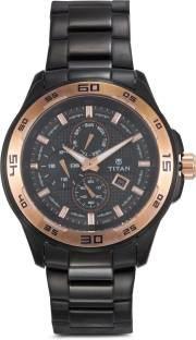 Titan Regalia NH90008KM02 Analog Black Dial Men's Watch (NH90008KM02)