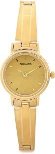 Sonata 8096YM05C Analog Gold Dial Women's Watch (8096YM05C)