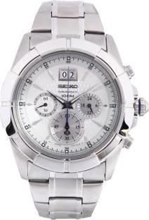 Seiko SPC107P1 Lord Chronograph Black Dial Men's Watch (SPC107P1)