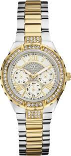 Guess W0111L5 White Dial Analog Women's Watch (W0111L5)