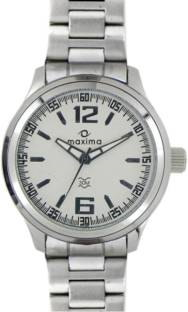 Maxima 24055CMGI Analog Silver Dial Men's Watch (24055CMGI)
