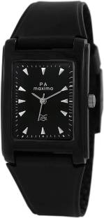 Maxima 02438PPGW Black Analog Men's Watch (02438PPGW)