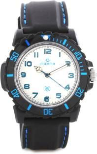Maxima 29724PPGW Hybrid Analog Men's Watch
