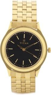 Titan NF1648YM03 Analog Black Dial Men's Watch (NF1648YM03)