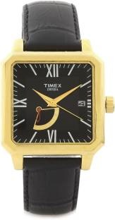 Timex TI000O70100 Empera Retrograde Analog Black Dial Men's Watch (TI000O70100)
