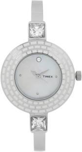 Timex TI000N30200 Mother of Pearl Dial Analog Women's Watch (TI000N30200)
