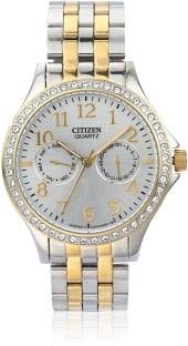 Citizen ED8114-57A Analog White Dial Women's Watch
