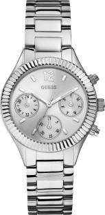 Guess W0323L1 White Dial Analog Women's Watch (W0323L1)