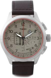 Timex T2P275 IQ Linear Chronograph Analog Watch (T2P275)