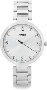 Timex TW000X202 Fashion Analog Silver Dial Women's Watch (TW000X202)