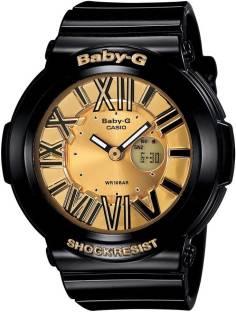 Casio Baby-G BGA-160-1BDR B143 Analog Digital Gold Dial Watch For Men (BGA-160-1BDR B143)