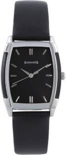 Sonata NH7080SL02C Analog Black Dial Men's Watch (NH7080SL02C)