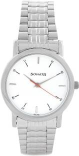 Sonata NH7987SM03CJ Analog White Dial Men's Watch (NH7987SM03CJ)