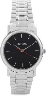 Sonata NH7987SM04CJ Analog Black Dial Men's Watch (NH7987SM04CJ)