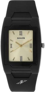 Sonata NH7920PP12CJ Analog Champagne Dial Men's Watch (NH7920PP12CJ)