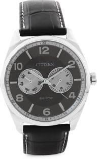 Citizen Eco-Drive AO9020-09H Analog Grey Dial Men's Watch (AO9020-09H)