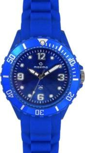 Maxima 31009PPLN Analog Blue Dial Unisex Watch (31009PPLN)