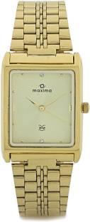 Maxima 06103 CMGY Gold Analog Men's Watch (06103)