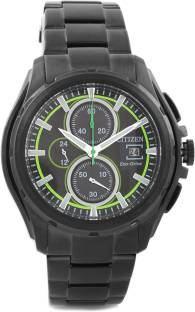 Citizen Eco-Drive CA0275-55E Analog Black Dial Men's Watch (CA0275-55E)