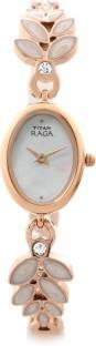 Titan Raga NH2511WM02 Pearly White Dial Women's Watch (NH2511WM02)