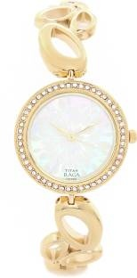Titan Raga 2539YM01 Analog Mother of Pearl Dial Women's Watch (2539YM01)