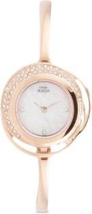 Titan Raga 95003WM01J Analog Mother of Pearl Dial Women's Watch (95003WM01J)