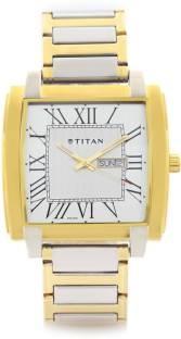 Titan NF1586BM01 Analog Silver Dial Men's Watch (NF1586BM01)