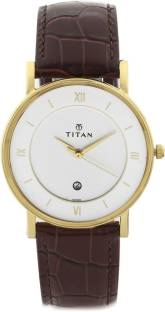 Titan 9162YL01 Classique Analog Men's Watch (9162YL01)