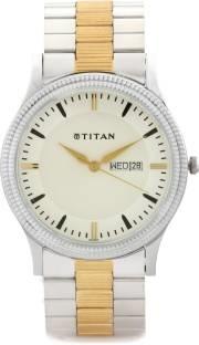 Titan NH1650BM01 Analog Multi Colour Dial Men's Watch (NH1650BM01)