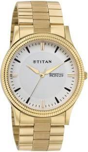 Titan NH1650YM03 Silver Dial Analog Men's Watch (NH1650YM03)