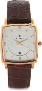 Titan NH9159WL01 Analog White Dial Men's Watch (NH9159WL01)