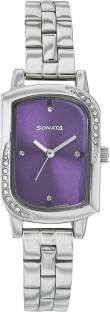 Sonata NG87001SM04AC Analogue Women's Watch (NG87001SM04AC)