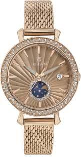 Titan Purple 95015WM01 Analog Women's Watch (95015WM01)