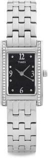 Timex TW000Y702 Fashion Analog Black Dial Women's Watch (TW000Y702)