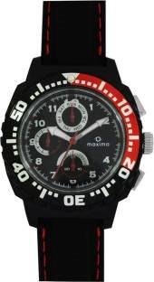 Maxima 30775PPGN Hybrid Analog Black Dial Men's Watch (30775PPGN)