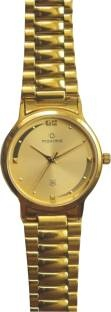 Maxima 19430CMGY Gold Analog Gold Dial Men's Watch (19430CMGY)