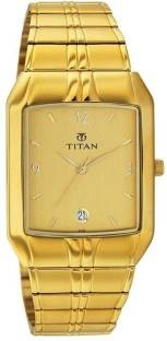 Titan NH9264YM02 Analog Champagne Dial Men's Watch (NH9264YM02)
