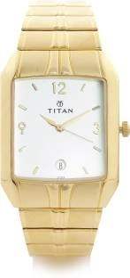 Titan Karishma NH9264YM01 Analog White Dial Men's Watch (NH9264YM01)