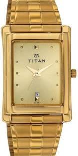 Titan Karishma NH9151YM03 Analog Champagne Dial Men's Watch (NH9151YM03)