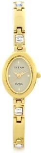 Titan Raga NF9717YM02A Muted Gold Toned Dial Women's Watch (NF9717YM02A)