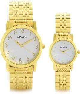 Sonata 71178137YM01C Analog Watch (71178137YM01C)