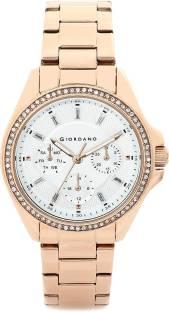 Giordano 2721-33 Silver Dial Analog Women's Watch (2721-33)